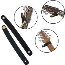1pcs high quality leather Guitar Neck Straps Black /Green /Brown starp 20*2cm Choose