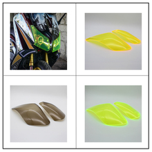 for YAMAHA TMAX 530 TMAX530 2012 2013 2014 Motorcycle Accessories ABS Headlight Protector Cover Screen Lens kemimoto tmax530 motorcycle accessories cnc mirror hole cap cover driven mirror eliminators for yamaha tmax 530 2012 2013 2015