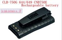 ホットミュウCLB-750G HT-644 HT-649 CNB750Eリチウムイオンバッテリーマリン双方向無線電話の充電式リチウム電池