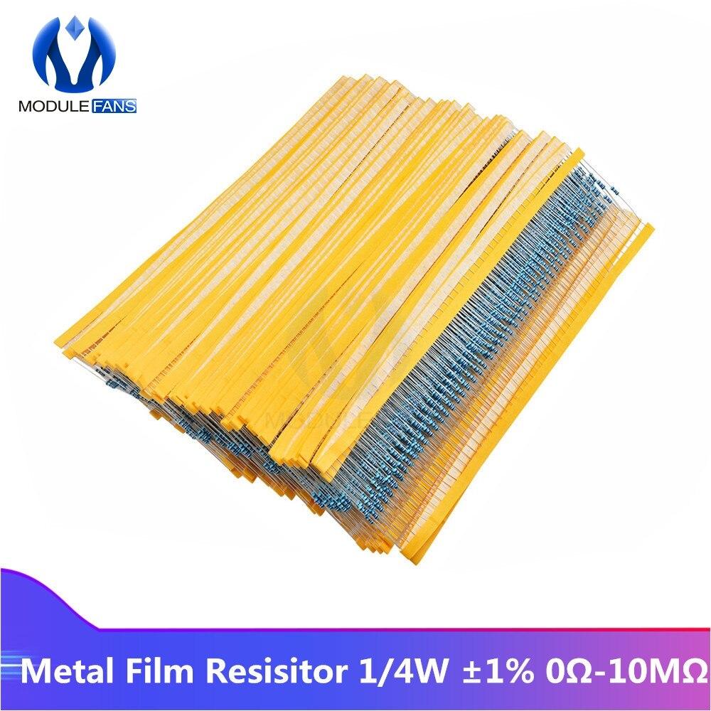 100 x 2.7M résistances 5/% 1//4W série E12 résistance CR25