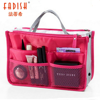 Drop Shipping 12Colors Promotions Organizer Bag Lady S Handbag Organizer Travel Bag Organizer Insert With Pockets