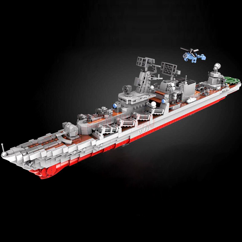 XINGBAO Military Series The Missile Destroyer Cruiser Battleship Aircraft Ship Set Building Blocks Bricks New Kids Toys GiftsXINGBAO Military Series The Missile Destroyer Cruiser Battleship Aircraft Ship Set Building Blocks Bricks New Kids Toys Gifts