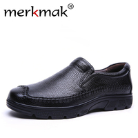 2016 Men Flats Hot Sale Authentic Luxury Brand Casual Men Genuine Leather Loafers Shoes Plus Size