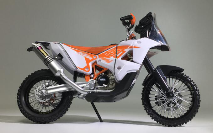 Bulk 1:12 KTM 450 Rally simulation cross country motorcycle model