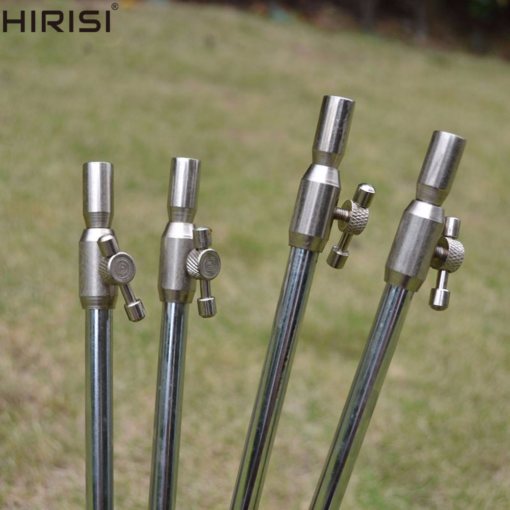 """2 x 5/"""" Summit Tackle Colossium stainless steel bank sticks"""