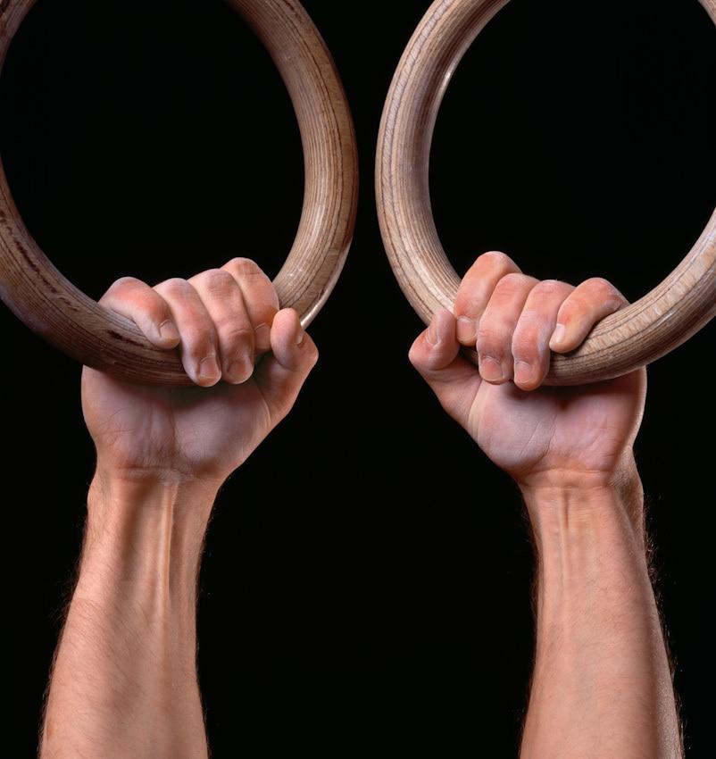 ξύλινα γυμναστικής δαχτυλίδια - Fitness και bodybuilding - Φωτογραφία 3