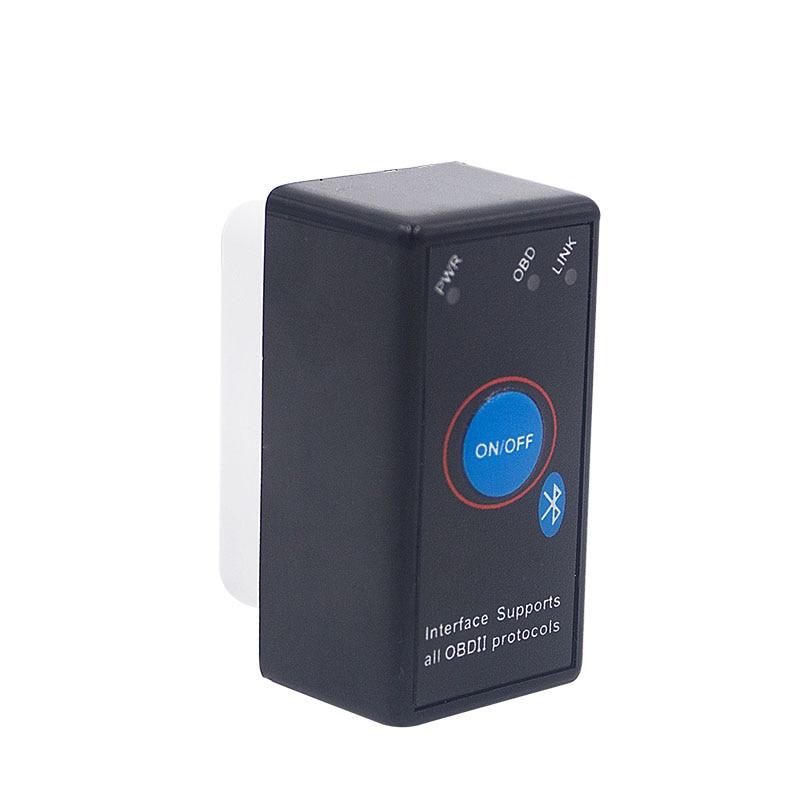 Super Mini ELM327 Bluetooth ELM 327 Power Switch V2 1 On Off Button OBD2 Car Diagnostic Super Mini ELM327 Bluetooth ELM 327 Power Switch V2.1 On/Off Button OBD2 Car Diagnostic Tool Multi-Languages For OBDII Protocols
