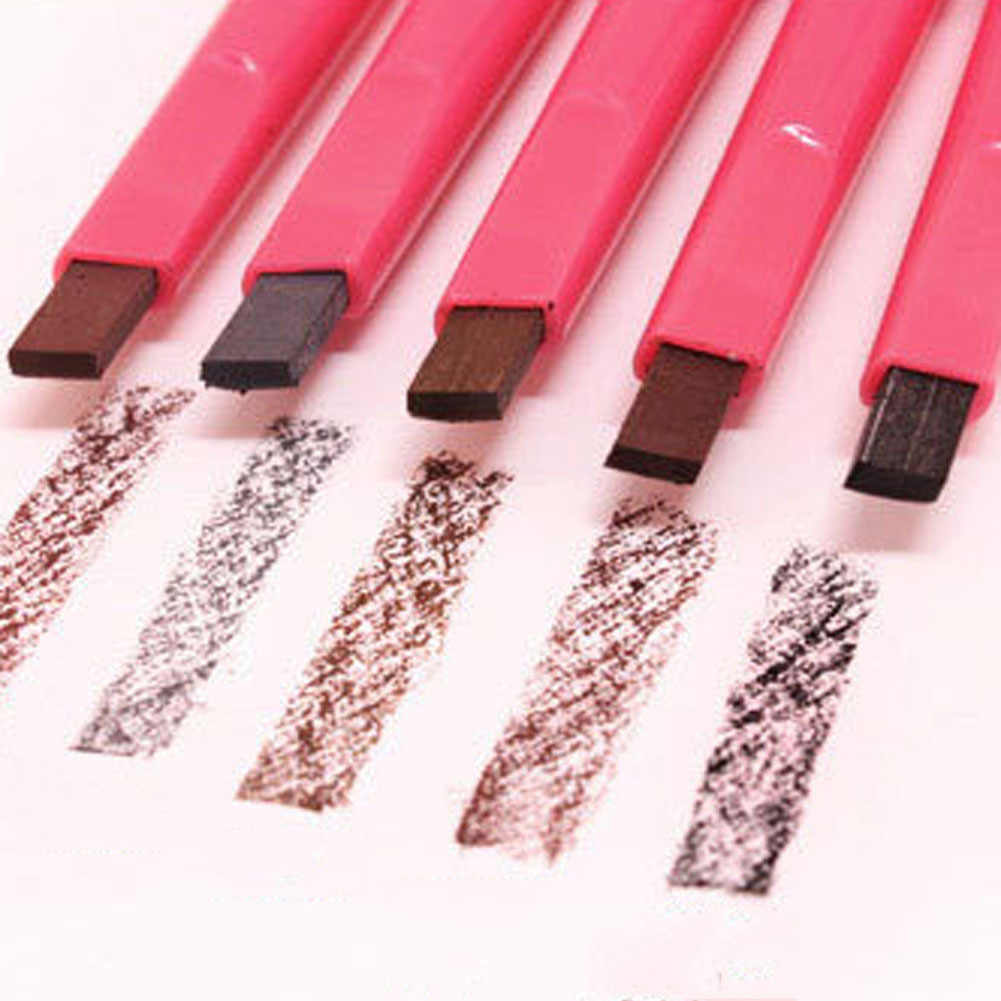 1 шт. карандаш для бровей waterproof Водонепроницаемый Прочный автоматический карандаш для бровей трафареты набор для ухода за волосами инструмент для макияжа 2017