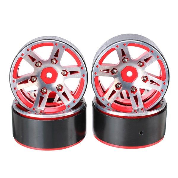 AUSTAR 4PCS Aluminum Alloy Wheel Hub 12mm Hex For 1/10 Climbing Car недорого