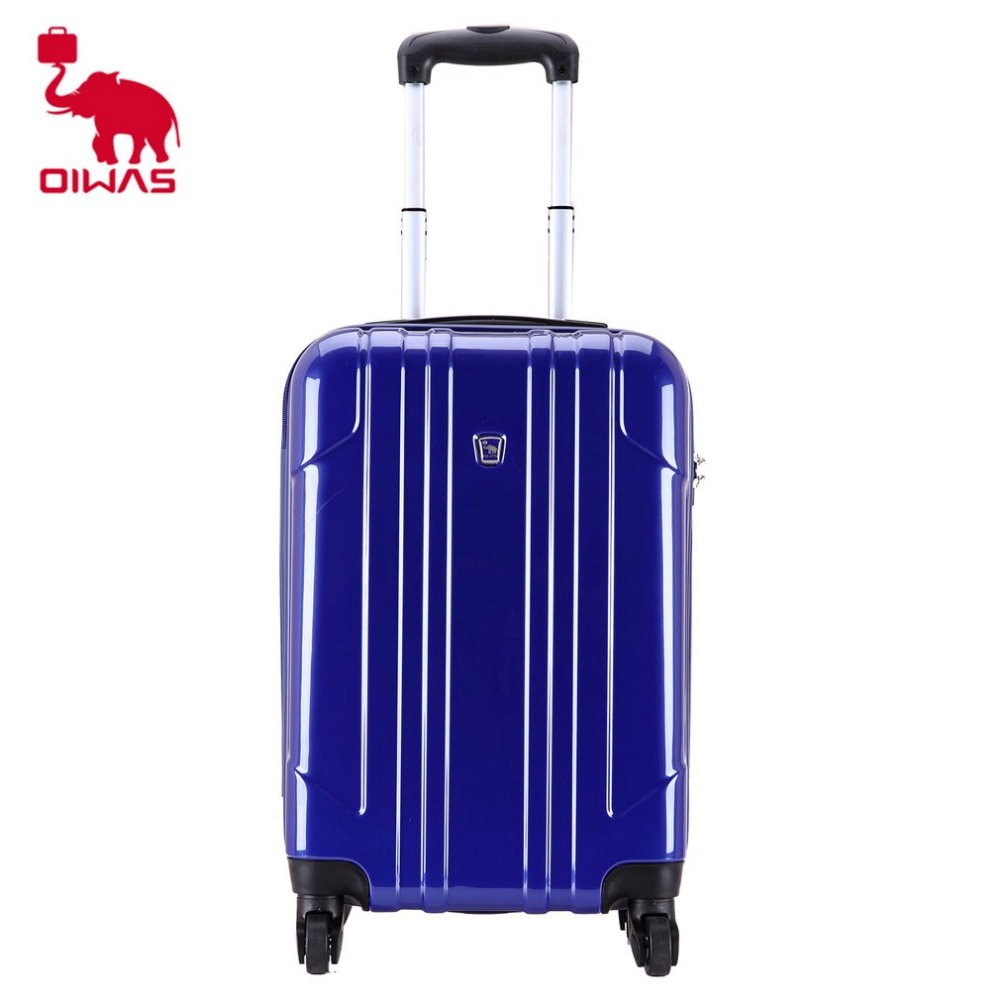 OIWAS 20 inch Brand Rolling Luggage Suitcase Boarding Case Travel Luggage with Spinner Cases Trolley Suitcase Wheeled Case vintage suitcase 20 26 pu leather travel suitcase scratch resistant rolling luggage bags suitcase with tsa lock