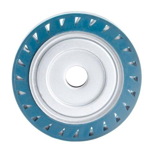 DRELD 150*30*25mm Solid Rubber Contact Wheel For Belt Grinder Sander Polishing Chamfering Grinding Wheel Abrasive Belt