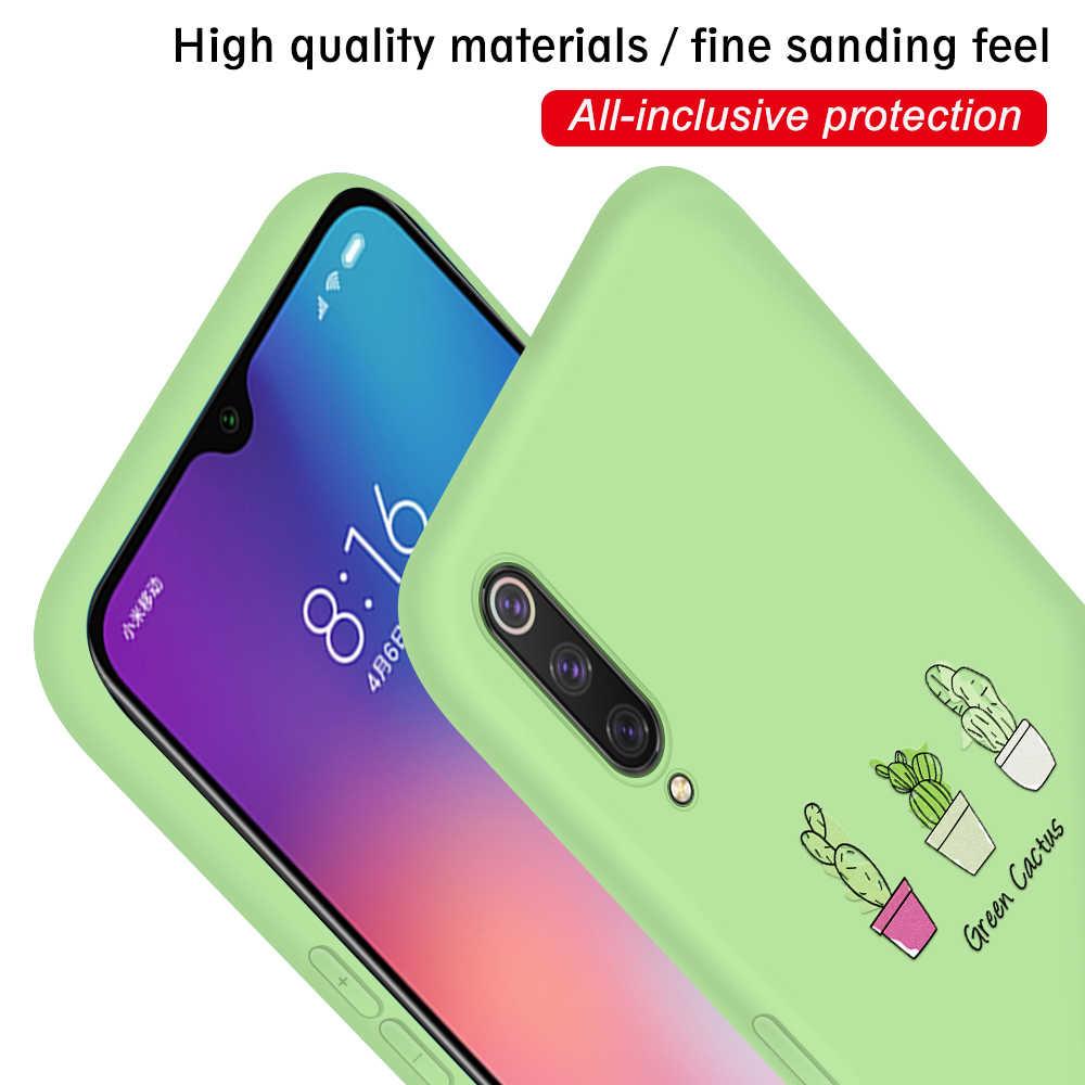 Funda de teléfono ultrafina para Xiaomi mi 8 Lite 9 mi A2 Lite 6X colores mate funda para Xiaomi mi 9 SE 9T mi 9 t mi 9SE mi 9 t 8 mi 8 Shell
