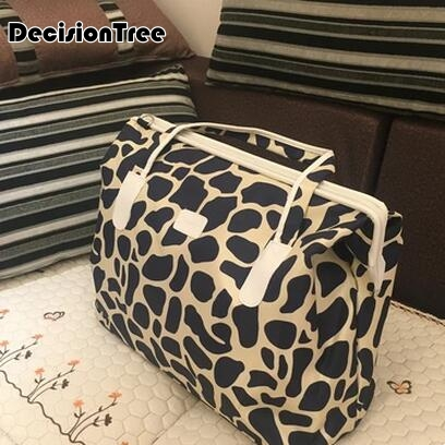 New Arrival Fashion Waterproof Luggage Handbag Multifunctional Women Travel Bag Portable Travel Bag High Quality Boarding Bag