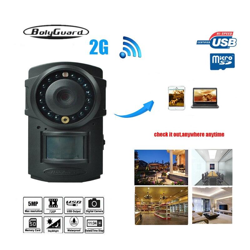 Bolyguard Hunting Camera Photo Traps MMS GSM GPRS 720P Night Vision Hunting Traps Wild Trail Camera