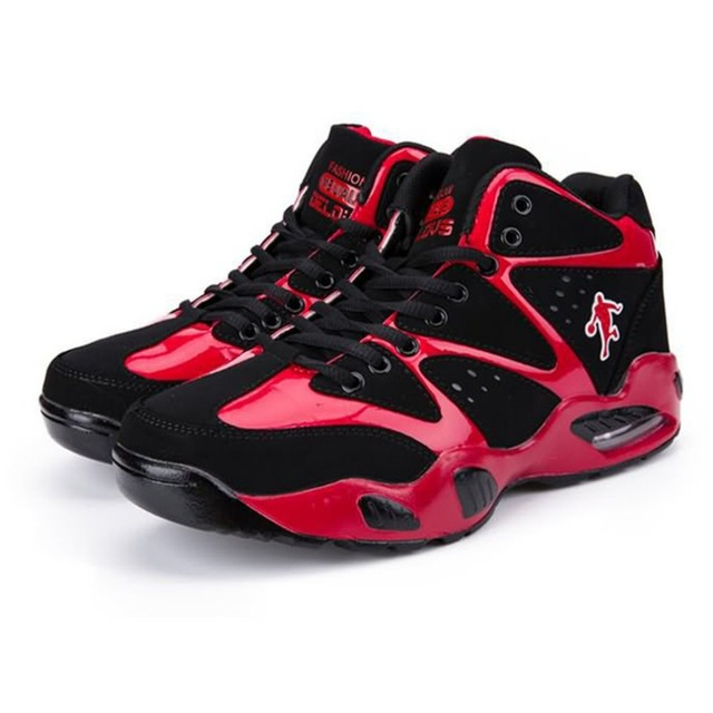 26d79c6ba5e8 Basketball Shoes with Air Cushion Breathable Comfortable Lace-up Sports  Shoes for Men Old School Cool Style