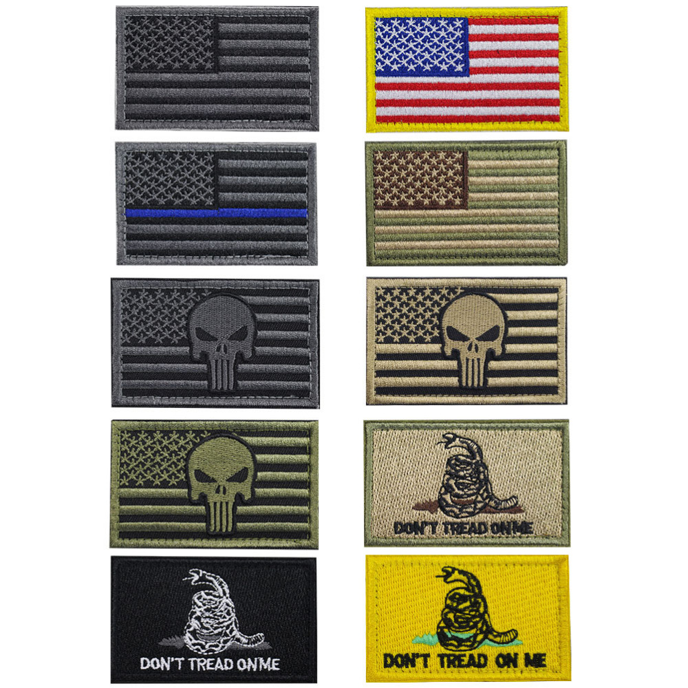 891b872aae6 The flag Patch is 100% embroidered with hook  loop backing. The size is  Perfect for hats