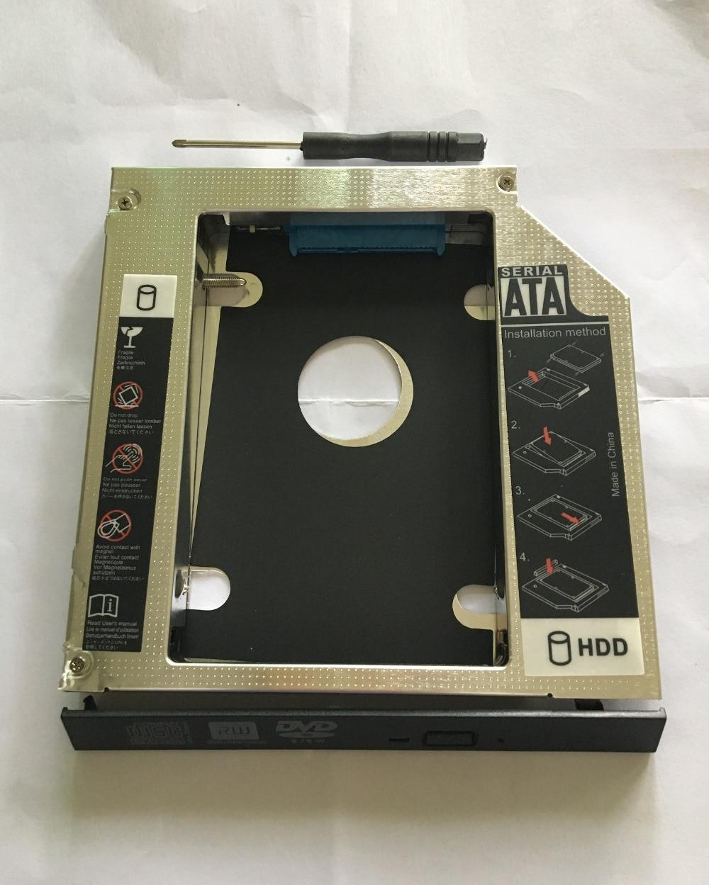 WZSM 9,5 мм SATA 2nd диск SSD жесткий диск Caddy для lenovo ideapad 110-15 ISK/ACL/ ИБР