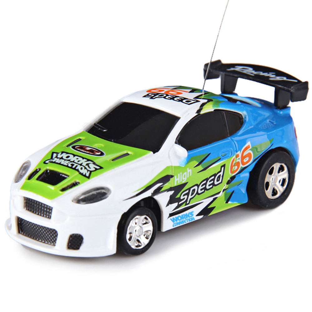 hot mini rc car remote controlled coke can shape racing car built in rechargeable battery multifunction rc car toys kids gifts