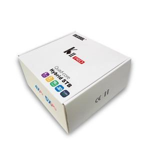 Image 5 - DVB S2/T2 Mecool KII PRO Android 7.1 TV, pudełko Amlogic S905D K2 PRO QuadCore 2G16G 4K obsługa NEWCAMD Dual Wifi BT4.0