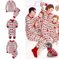 Family Matching Christmas Pajamas Set Women Baby Kids Deer Sleepwear Soft Warm Nightwear Christmas print New Year Sleepwear Nigh