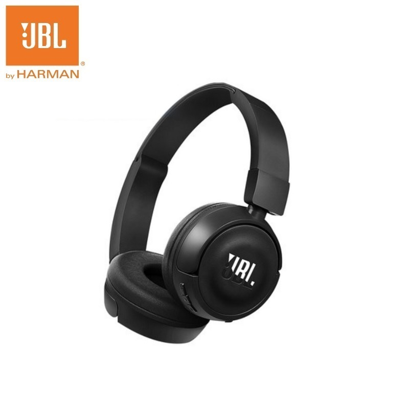 JBL T450BT Bluetooth Wireless Headband Earphone with Pure Bass Stereo for Mobile Phone PC Earbuds iPod Headsets flat head earphone 3 5mm earbuds super bass headsets with microphone adjustable volume for xioami mobile phone
