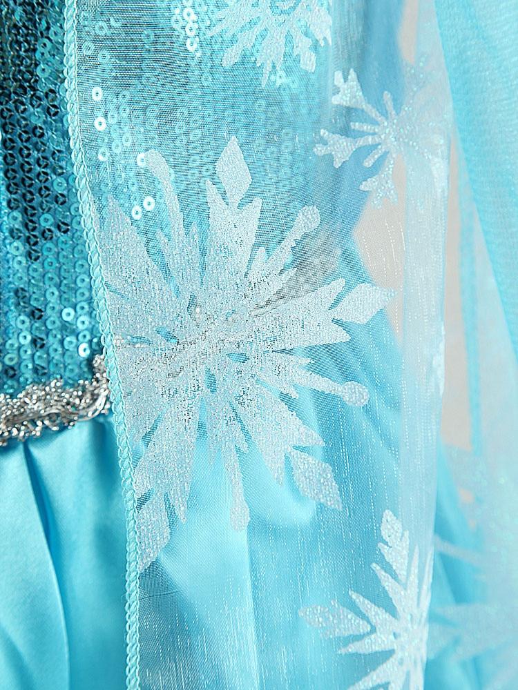 Baby Girl Elsa Dress for Girls ChildrenClothing Cosplay Elsa Costume Halloween Christmas Party Princess Teenagers Fancy Vestidos