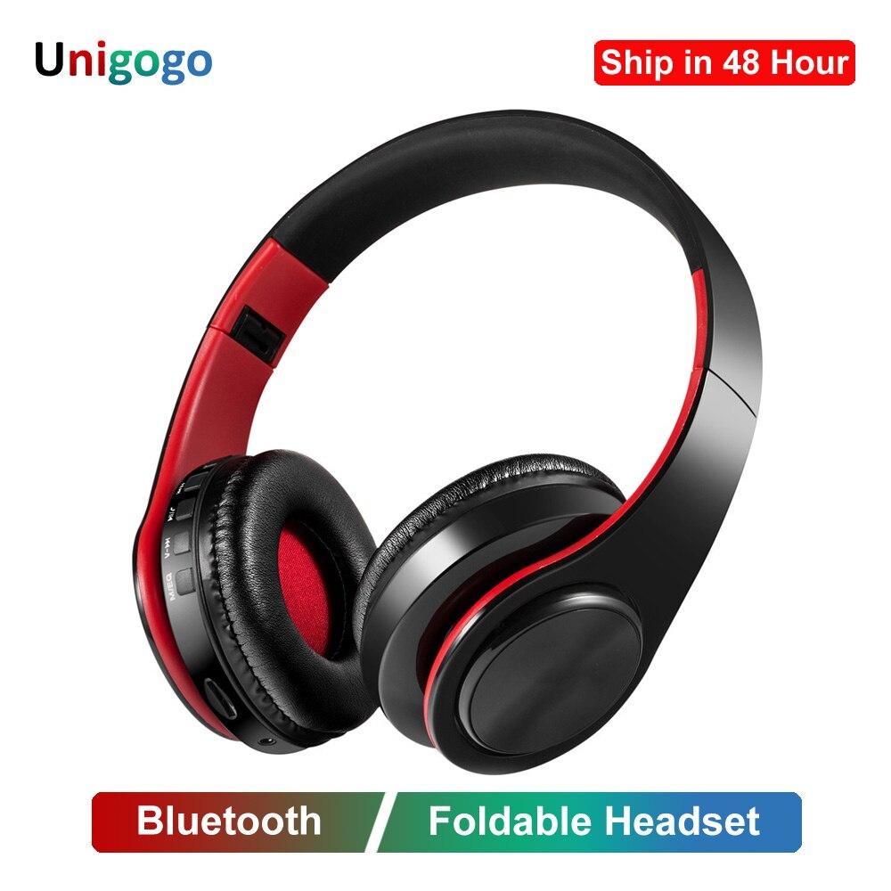 Portable Wireless Headphones Bluetooth Headset Stereo Earphones Folding Earphone Bluetooth With Mic Headphones For Mobile Phone