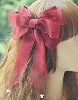 Princesa lolita doce headwear shell AP extensão estrelas fio grande arco braçadeira lado todo o jogo multicolor colar Lolita MHTSP006