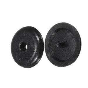 Image 2 - SEKINNEW 10Pcs Car Parts Black Plastic Car Safety Seat Belt Stopper Spacing Limit Buckle Clip Retainer Seatbelt Stop Button