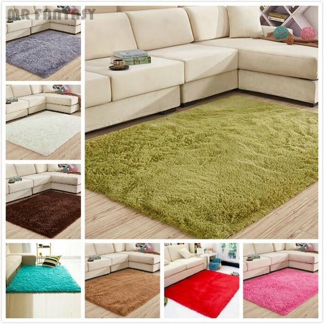 Flauschigen Teppiche Anti Skid Bereich Teppich Shaggy Teppich Modernen Haus  Schlafzimmer Esszimmer Matte CYF9159