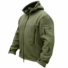 Military Fleece Tactical Jacket Solid Casual Hooded Jacket Army Zipper Coat Outdoor Thermal Ventilation Sports Polar Clothes недорого