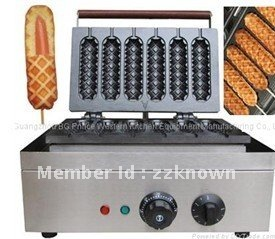 6 piece electric Muffin hot dog machine/  French Muffin hot dog machine/ hot dog machine with best quality