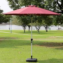 2,7 м диаметр Открытый Зонт складной рекламный зонтик портативный пляжный зонт с пустой пластиковой основой