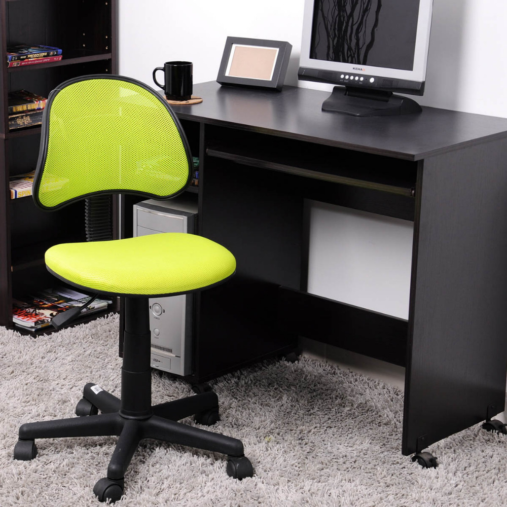 Aingoo Breathable Office Computer Chair Without Arms Fabric Pads Swivel Height Adjule 360 Degree Rotating Wheel In Chairs From