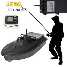 Free Shipping!JABO-2BL-20A Profession High Speed 300M Fish Finder Night Led Sonar RC Bait Boat