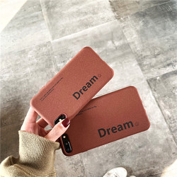 Matte TPU soft cellphone cover for iPhone Xr case iPhone Xs Max case X XS iPhone 6 6s Plus 6G 6P iPhone 7 7P 8 Plus Dream coffee 3