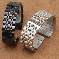 20mm 22mm Stainless Steel Watch Band Bracelet New High Quality Womens Men Metal Polished Strap Watchbands Accessories wristband