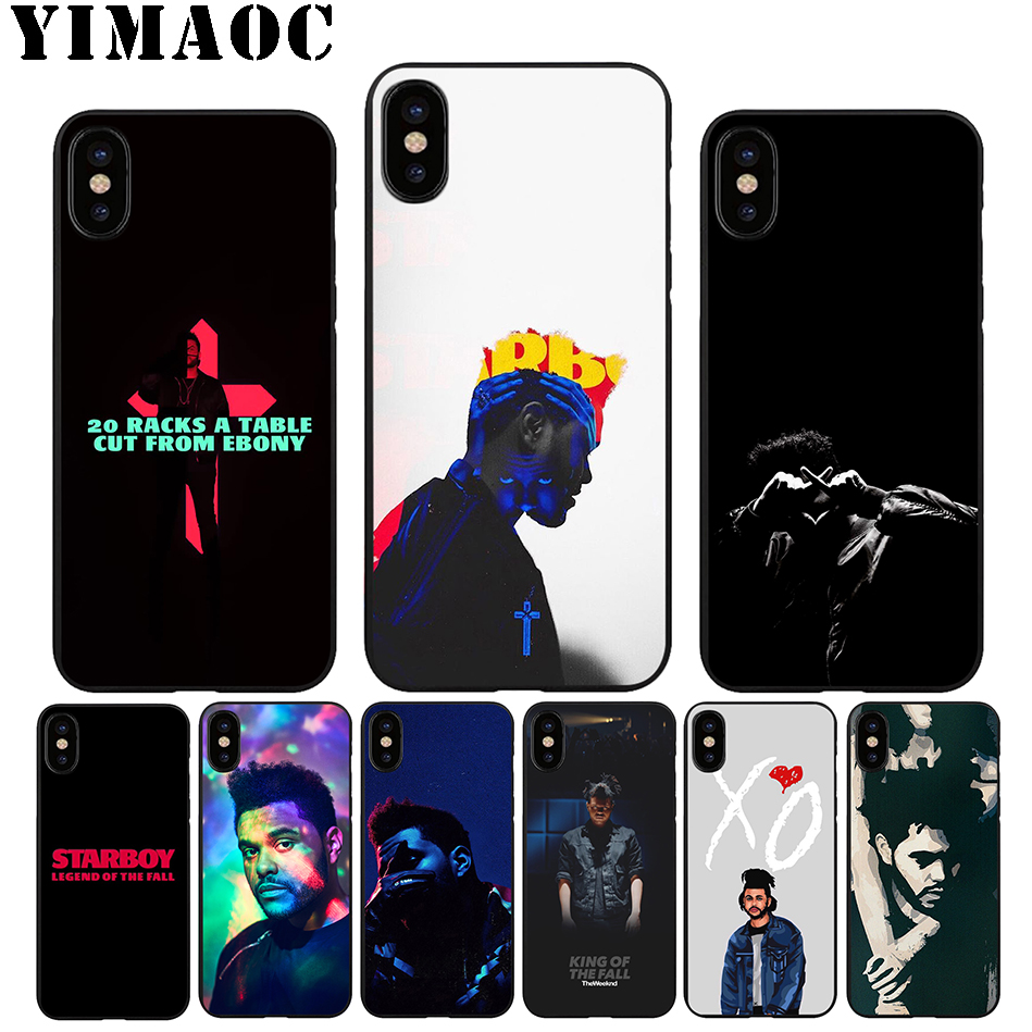 YIMAOC A55 The Weeknd Starboy Soft Silicone Case For IPhone 11 Pro Xr Xs Max X Or 10 8 7 6 6S Plus 5 5S SE