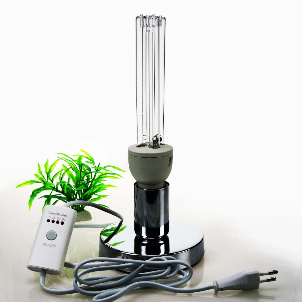Image 5 - 석영 UVC 살균 살균 CFL 오존 램프 벌브 자외선 E27 박테리아 바이러스 진드기 소독 용베이스germicidal bulbuvc bulbuvc germicidal lamp -