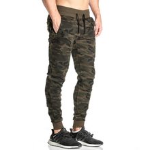 2018 Men Casual Pants Camouflage Print C