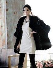New Arrival Women Elegant Faux Fur Long Coat Casual Long Sleeve Jacket Winter Warm Coat Outerwear women Faux Fur Vest