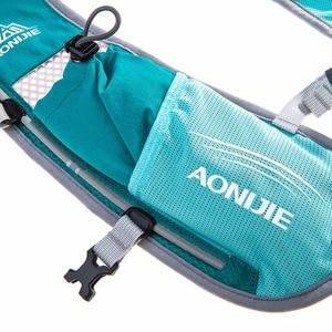 Image 5 - AONIJIE mochila para correr para hombre y mujer, chaleco de hidratación para deportes al aire libre, senderismo, carreras, Maratón, Fitness, 500 l, bolsa de ml
