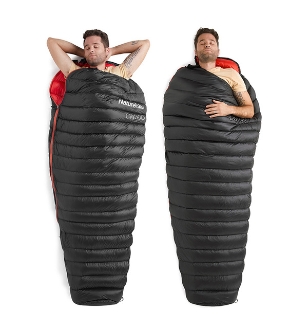 Naturehike CW300 Goose Down Sleeping Bag Ultralight Mummy 630grs 1