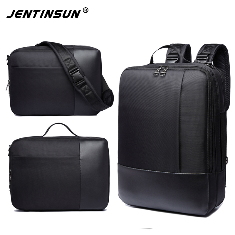 Men's 16.5Inch Laptop Backpacks Waterproof Nylon Notebook Computer Bag Multifuction Backpack For Travel School Bag For Teenagers