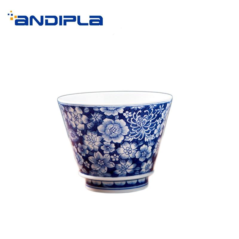 e58b5fd7c41a 110 мл Цзиндэчжэнь Малый чай чашки дома Винтаж посуда для напитков офисные  чай церемония мастер пуэр