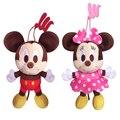 Disney Winnie the Pooh Mickey Minnie Mouse Brinquedos De Pelúcia Boneca Urso Chip Dale esquilo Não Donald Daisy Duck 14 CM 5.5 ''Brinquedos Pingente