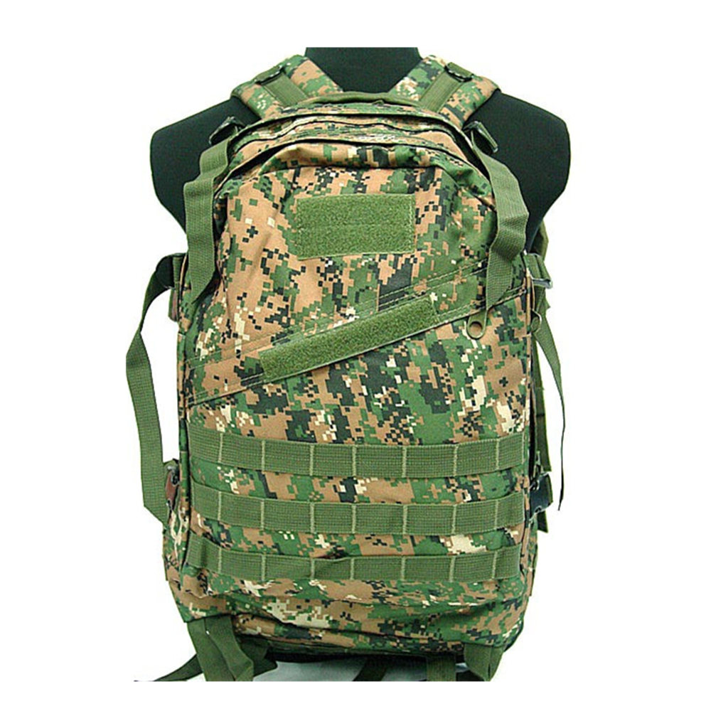 Men and women military backpack Airsoft Tactical 3 Day Molle Assault Backpack  Bag OD BK Digital Camo-in Climbing Bags from Sports   Entertainment on ... e742825d0