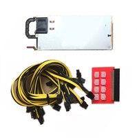 DPS 1200FB A 1200W Switching Power Supply For GPU Open Rig Mining BTC ETH Ethereum 438202