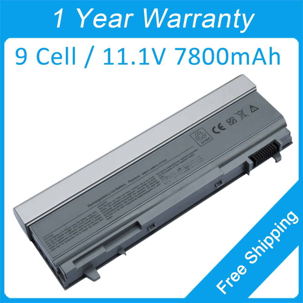 New 9 cell laptop battery for dell Latitude E6400 <font><b>E6410</b></font> ATG E6500 E6510 FU274 312-0754 0FU274 0FU439 312-0910 FU439 NM633 PT434 image