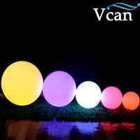 40 cm 15.8 polegada colorido impermeável ao ar livre da lâmpada LED Ball VC B400